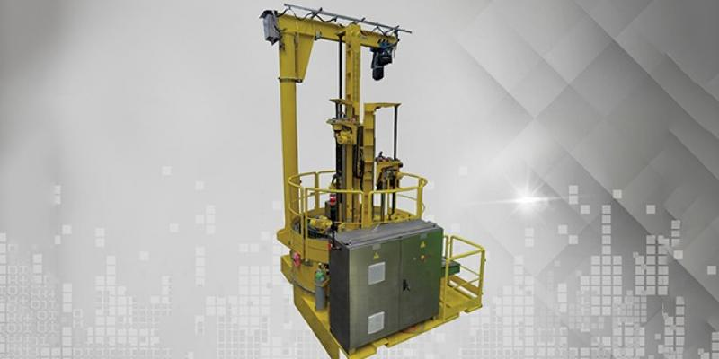 Remotely Operated Filter Changing Machine