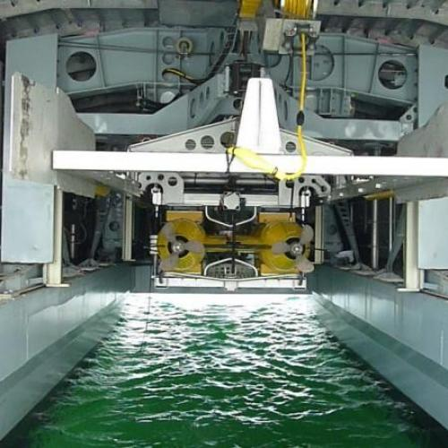 Participation in DGA's Espadon project for the Future Mines Countermeasures System