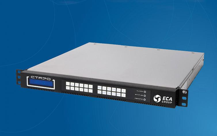 CTR 70 - Compact Tracking Receiver for Satellite Ground Station Equipment