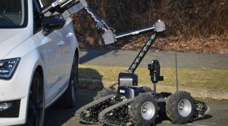 ECA GROUP - UGV - IGUANA E - Used by french armed forces