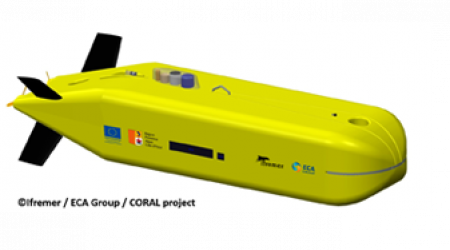 ECA GROUP - AUV - CORAL PROJECT 2
