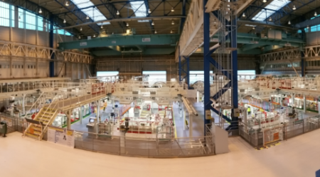 ECA Group - Structure of assembling stations saint nazaire airbus plant to meet A320 neo production ramp-up