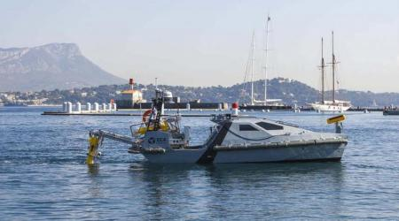 ECA Group - Usv for Mine Identification and Neutralization - Le Marin