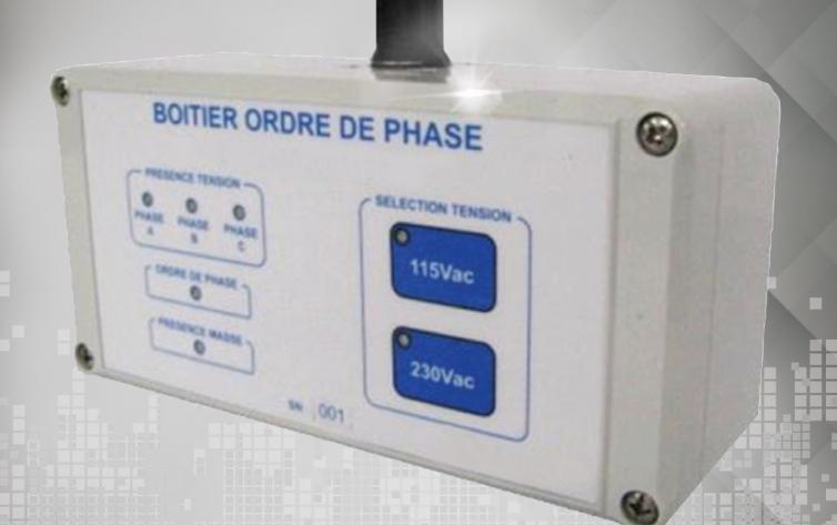 Three phase power tester for Aerospace applications
