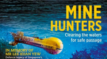 ECA GROUP - PRESS REVIEW - MINE HUNTERS CLEARING THE WATERS FOR SAFE PASSAGE