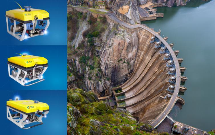 Dam Control and Inspection by ROV