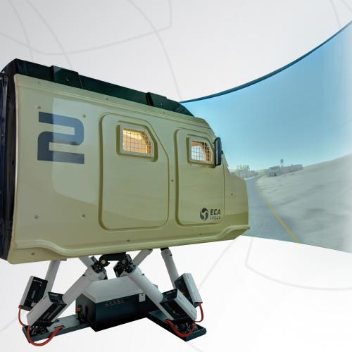 Delivery of the first series of military driving simulators - MVS