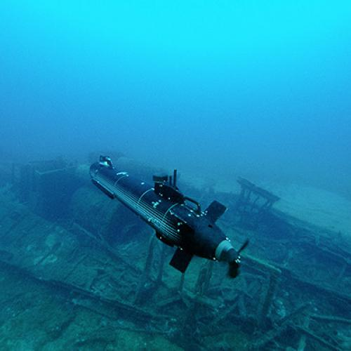 Remote-controlled underwater vehicles: mass-production of more than 300 vehicles of 10 different types
