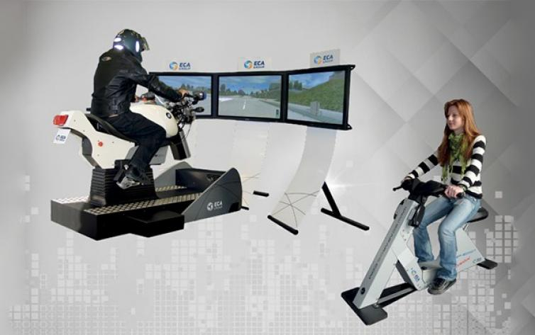 Simulation Training Systems for Motorcycles