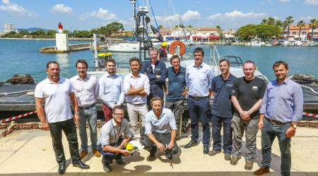 ECA Group successfully demonstrates USV/ROV interoperability  for subsea inspections for TOTAL and TECHNIPFMC