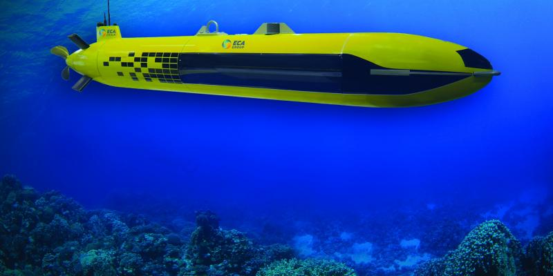 AUV for Search and Rescue