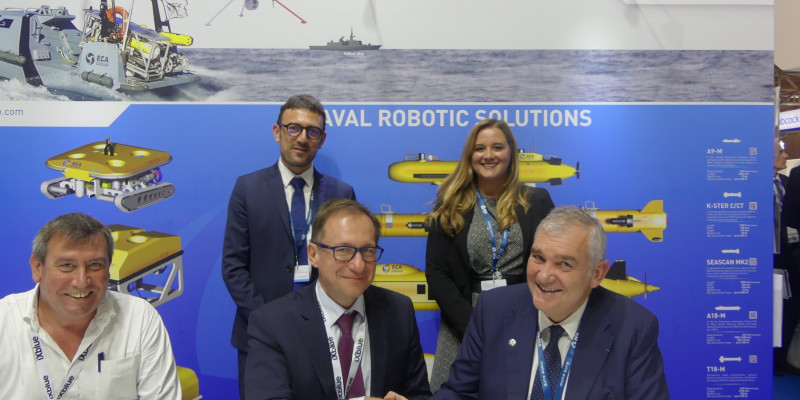 ECA Group receives a letter of intent for a contract worth more than € 12m for the supply of equipment for the French Barracuda submarines