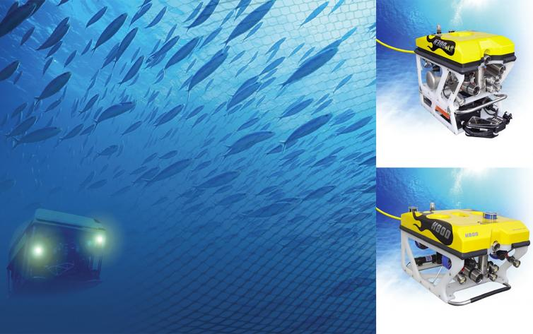 Fishfarm Inspection and Monitoring by ROV
