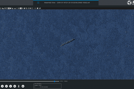 ECA GROUP -AUV - A18D - An example of long and narrow debris.png
