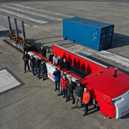 ECA Group successfully demonstrates Automated Guided Vehicle (AGV) system for Aluminium smelters